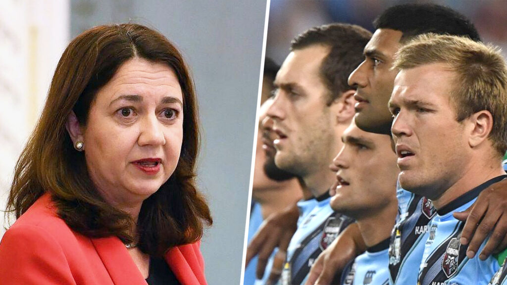 Palaszczuk Cancels State Of Origin Series, As Queensland ...