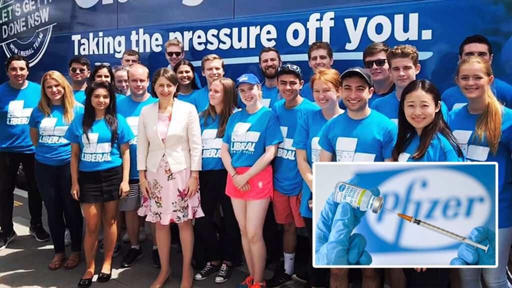 NSW Premier Reveals Hundreds Of Young Liberal Members ...